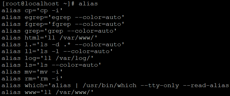 I created a program to help you manage your aliases